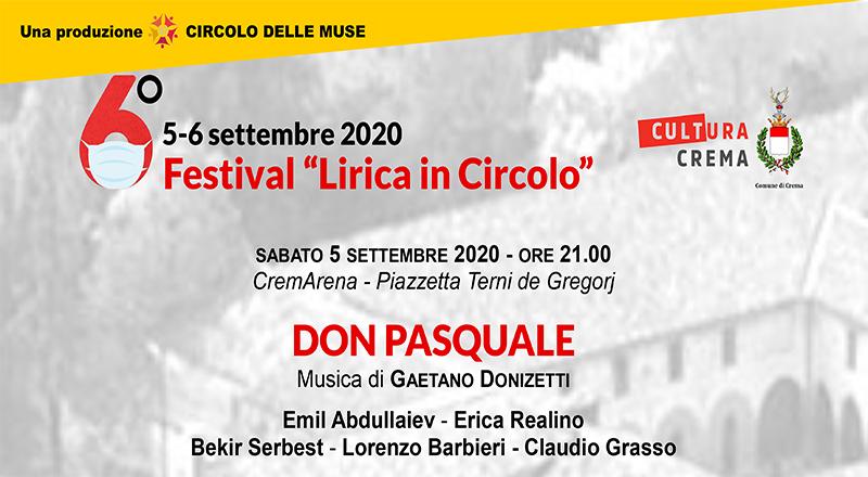 Circolo delle Muse, a settembre torna il Festival Lirica in Circolo