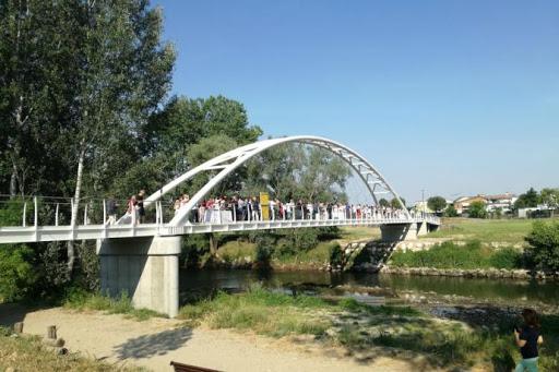 Area della passerella: ordinanza anti assembramento anche sull'altro lato del fiume