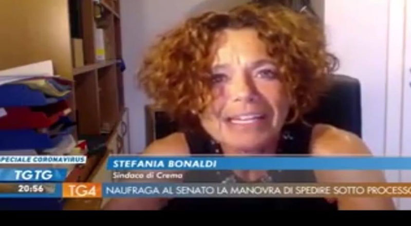 La lettera del sindaco Stefania Bonaldi ai genitori dellaragazza che si è arsa viva