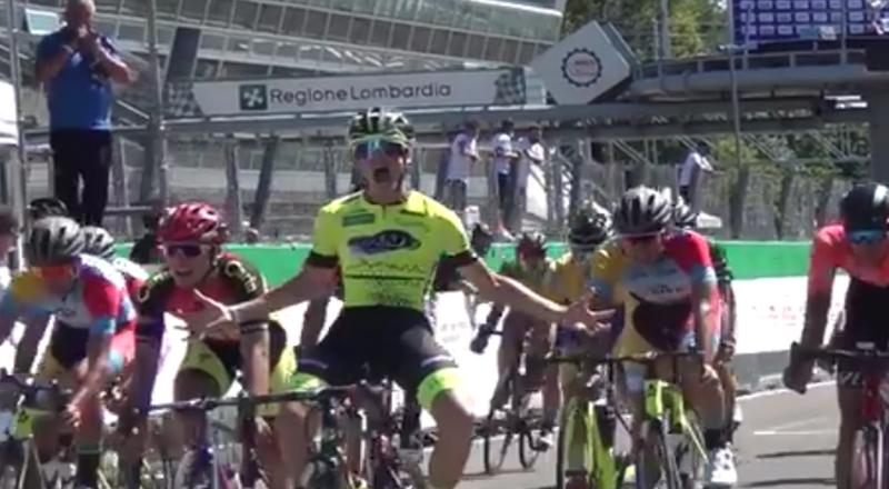 Samuel Quaranta, speranza del ciclismo italico, Campione Lombardo Juniores. Chapeau al bravissimo figlio d'arte