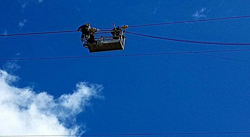 I Riparatori di Cielo fotografati dall'Arrigo Barbaglio, in quel del villaggio di Oz. Ah che FotoArtista è l'Arrigo