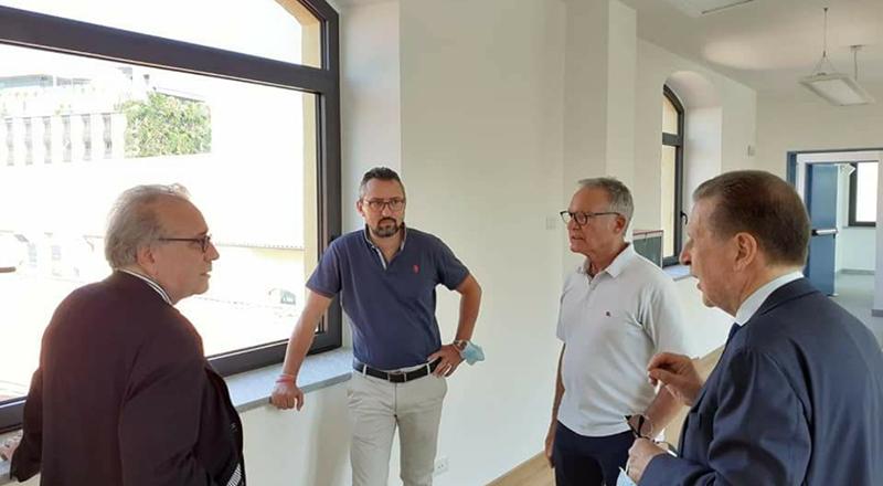 Il presidente Umberto Cabini in visita, col consigliere regionale Dem Matteo Piloni, al Design Museum di Milano