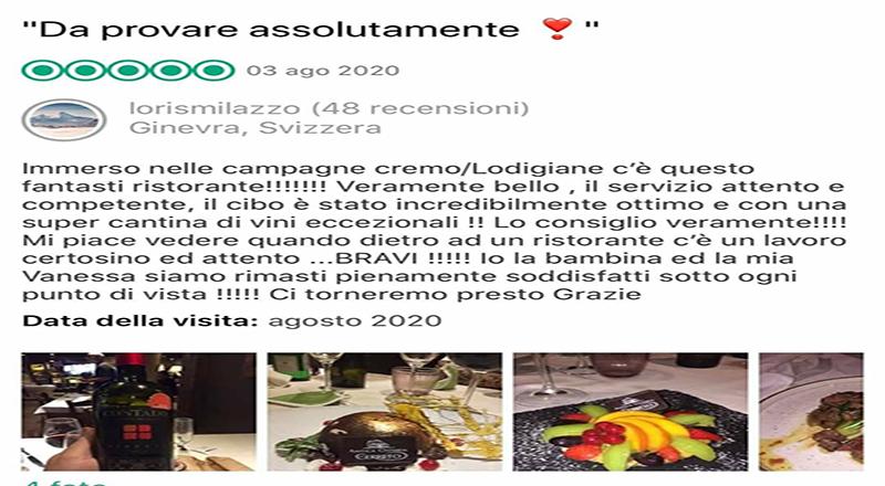 Clamoroso ad Abbadia Cerreto: dalla Svizzera per mangiare, benissimo, all'Antica Osteria del Cerreto di Stefano Scolari