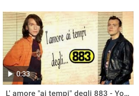 Ma è vero che al Festival di Sanremo si riuniranno i mitici 883, comunque all'Ariston con la cover de Gli Anni del cantante in gara Gio Evan?