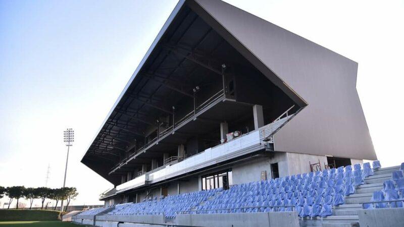 L'Albinoleffe, stessa categoria del Pergo (serie C), si è fatto lo stadio nuovo e l'Accademy in stile Barcellona
