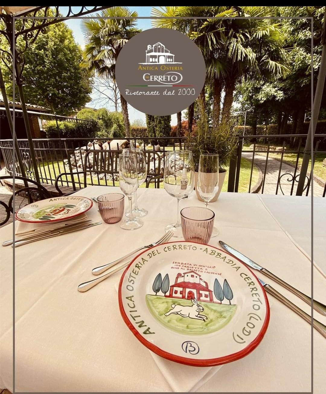 Con le riaperture, insieme all'Antica Osteria del Cerreto, riparte il menù dedicato al circuito (storico) del Buon Ricordo!