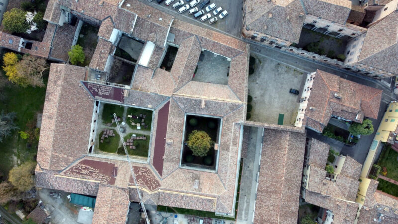 Centro Sant'Agostino: completate le coperture:  600 mila euro di investimento