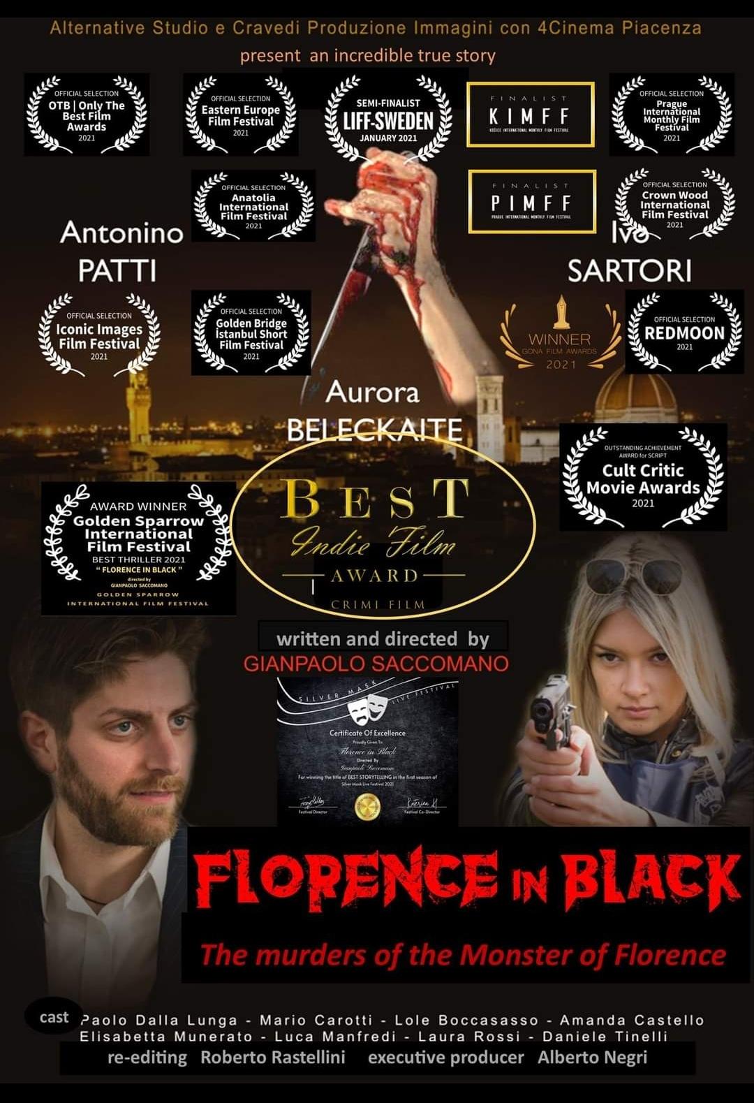 """Il regista Gianpaolo Saccomano annuncia: """"Il film Nero Fiorentino presente anche nella selezione ufficiale del Red Mon Festival di Buenos Aires"""""""
