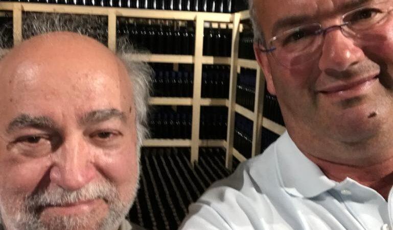 Che bella Finestra sul Mondo: il cuoco ricercatore Antonio Bonetti (è pure un grande Food Blogger) e Davide Caleffi (agricoltore e vignaiolo) insieme