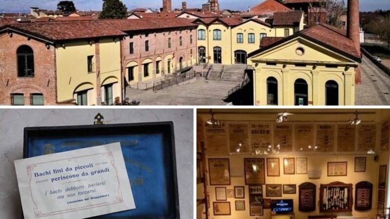 La Pagina Social Cremona Eventi menziona, segnala e invita a visitare il meraviglioso e unico Museo della Seta a Soncino, PopBorgo culturale d'Italia