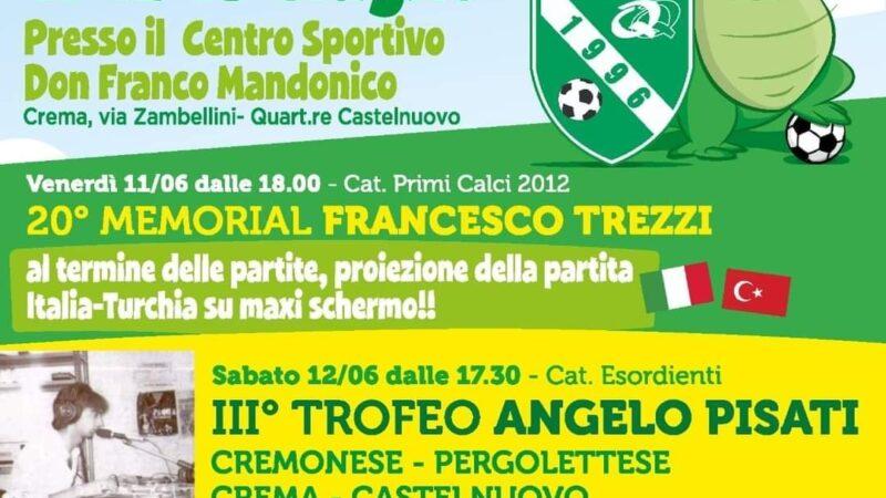 Paolo Pissavini, direttore generale della Polisportiva Castelnuovo, scrittore e Bella Persona presenta la Festa dello Sport a Castelnuovo