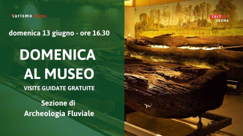 Proseguono le visite guidate gratuite al Museo civico di Crema e del Cremasco Speciale Sezione archeologia fluviale