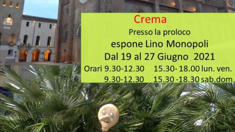 Ripartono le mostre alla Pro Loco, sabato inaugura la personale di Lino Monopoli