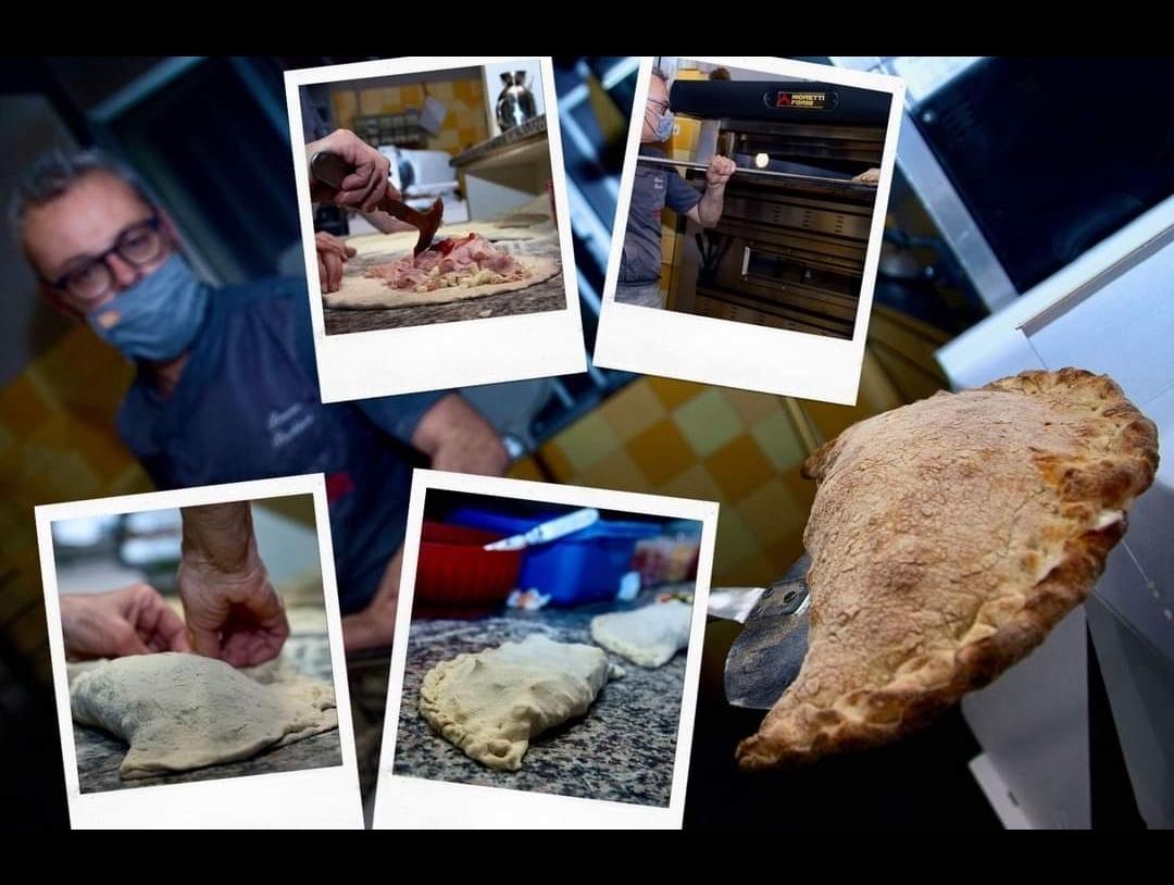 BB pizza e il maestro pizzaiolo Aleandro Bruno Barbieri raccontano la storia leggendaria del Calzone
