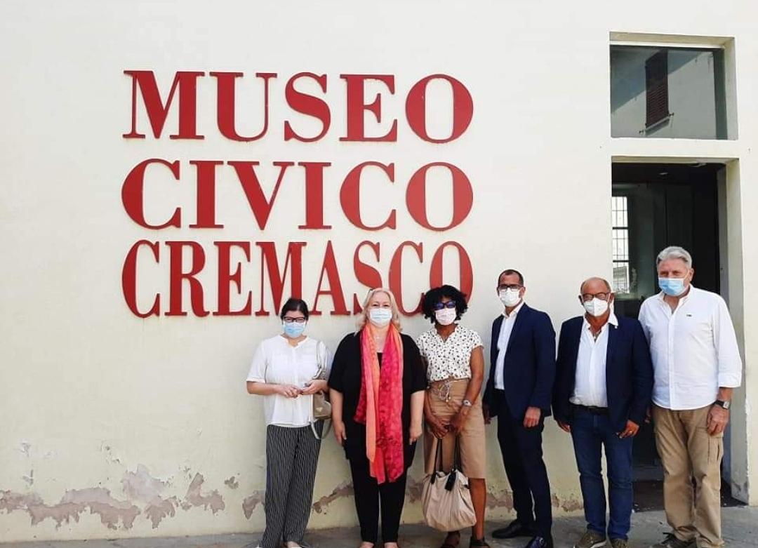 """L'ex mezzofondista cubana Ana Fidelia Quirot in visita a Crema e al Museo del Cremasco. Gemellaggio in vista con la """"Maratonina""""?"""