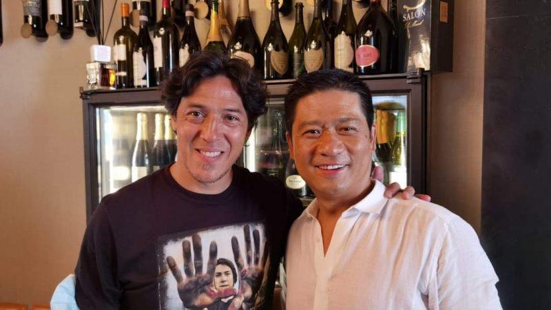 Grandioso a Cremona, special guest al ristorante nipponico del Gianni nazionalpopolare, il Kandoo: l'ex calciatore Camoranesi