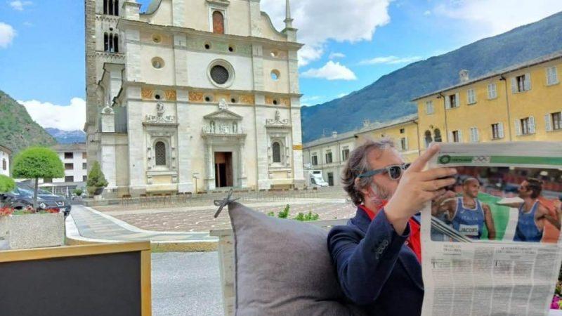 Ah … come provoca il Maestro d'Italia e tante altre belle cosette, Alex Corlazzoli