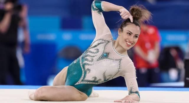 Vanessa Ferrari, ginnasta trentenne da Orzinuovi, medaglia d'Argento alle Olimpiadi. Ecco il suo commento