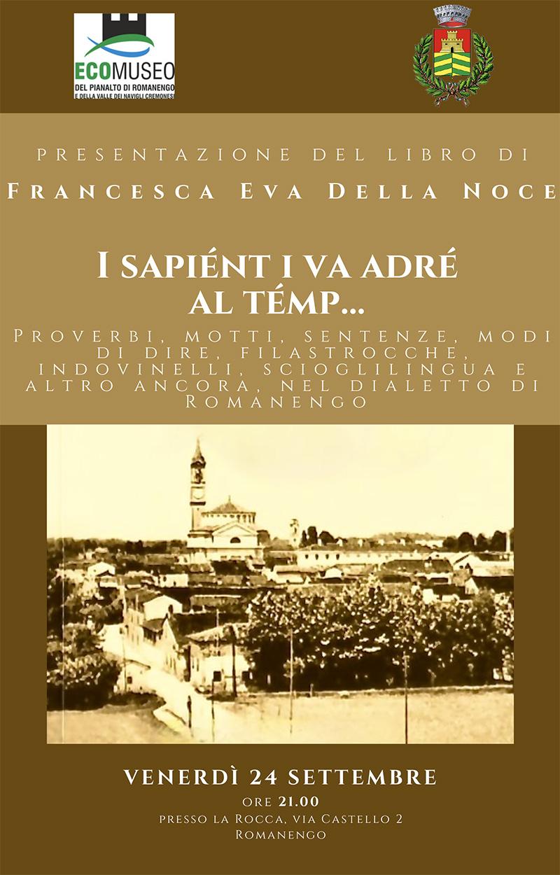 Il dialetto di Romanengo nei proverbi e nei modi di dire della parlata quotidiana  in un nuovo attraente libro