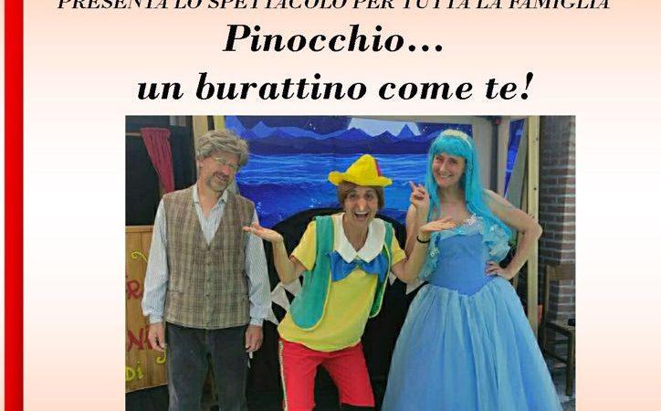"""Grandioso a Soncino, PopBorgo d'Italia: domenica prossima sarà tempo di spettacolo teatrale con """"Pinocchio un burattino come te"""""""
