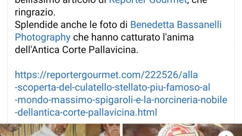 """Clamoroso alla """"Vecchia Osteria del Cerreto"""" ad Abbadia del Cerreto: alla corte del cuoco Stefano Scolari c'è il Culatello Stellato"""
