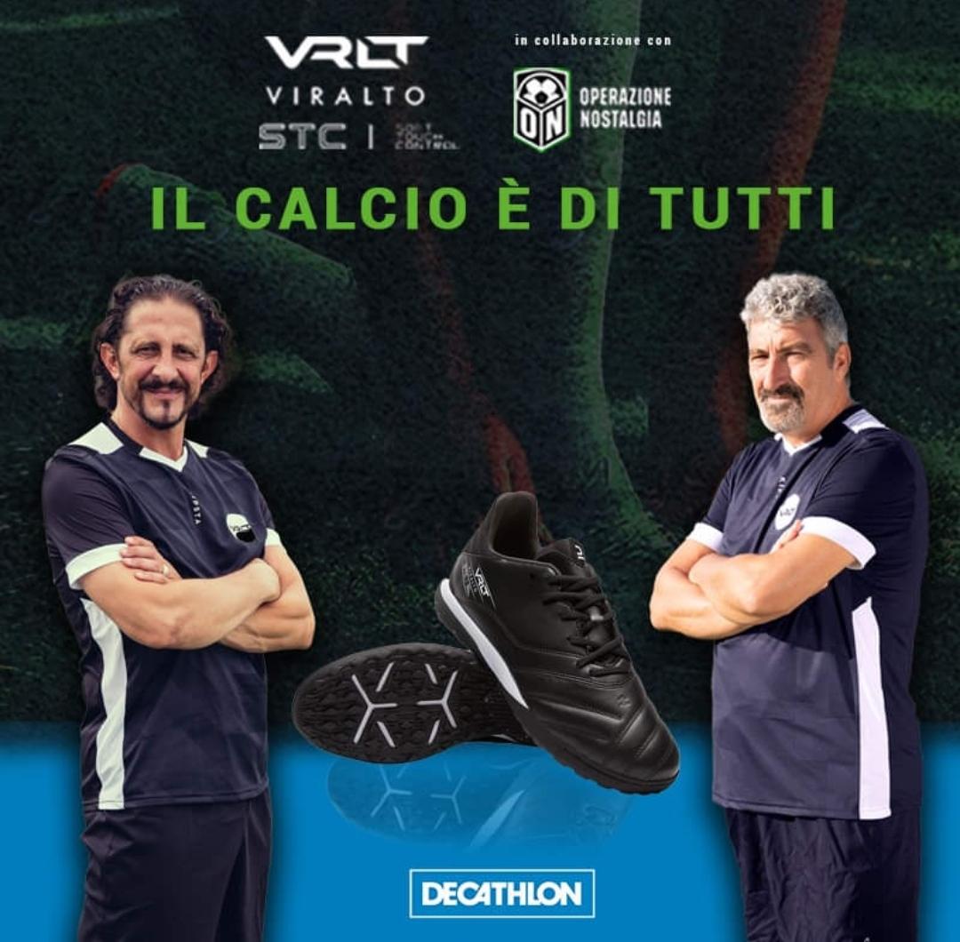 Dario Hubner e Igor Protti, grandi attaccanti e bomber assai prolifici in tour per l'Italia: Chapeau!