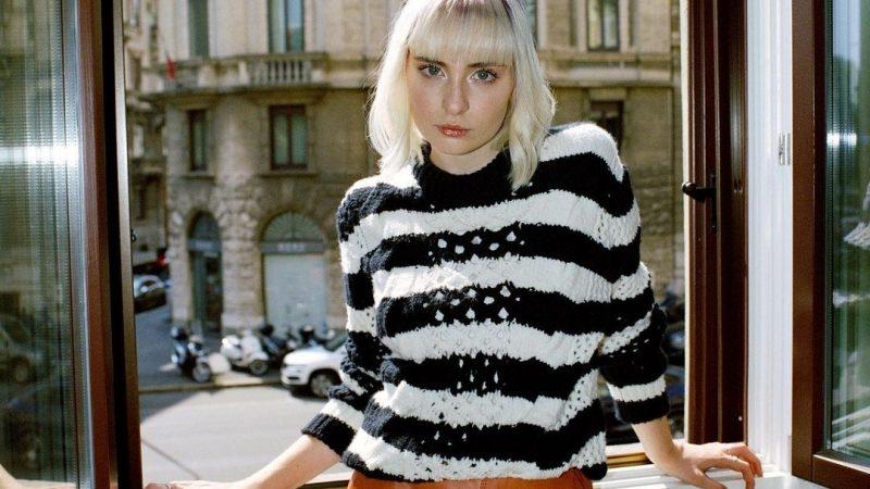 Cremasche alla Settimana della Moda a Milano protagoniste parte prima: la cantante Cara, giovane Eccellenza Artistica Italica alla sfilata di Trussardi