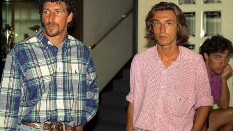 Ah che bella Finestra sul Mondo l'allora giovane Dario Hubner in compagnia del giovanissimo (a quei tempi) Andrea Pirlo