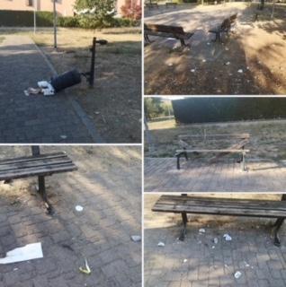Il consigliere comunale del Po Jacopo Bassi, via social segnala atti vandalici al quartiere di Crema di Santa Maria della Croce