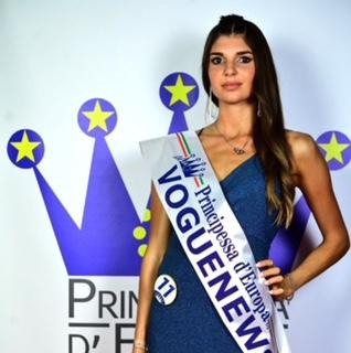 Anna Sampo' finalista nazionale al concorso Miss Principessa d'Europa 2021… Chapeau