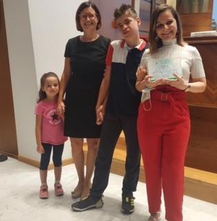 Chapeau a Gloria Giavaldi luminosa giornalista cremasca impegnata, premiata per le sue storie speciali