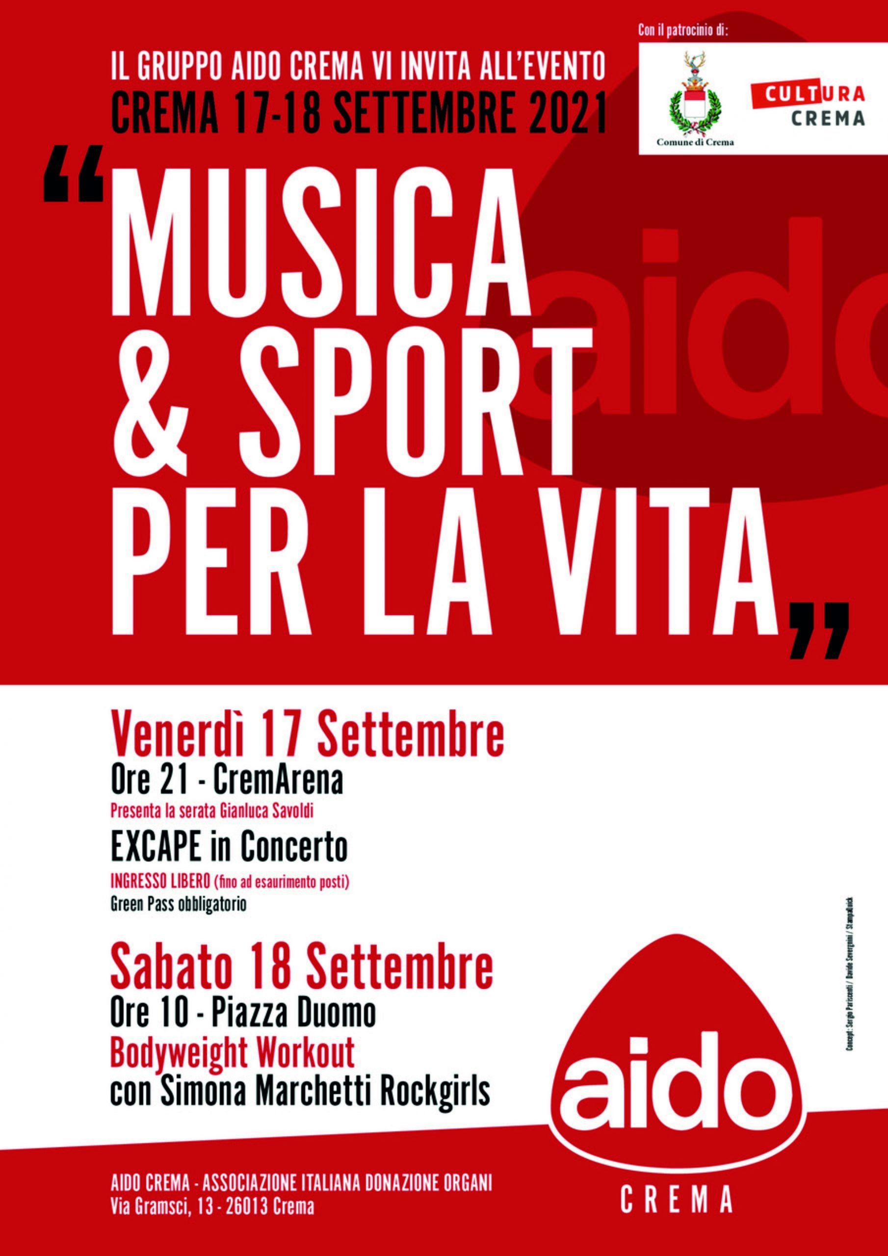 Aido, Musica & Sport Per La Vita