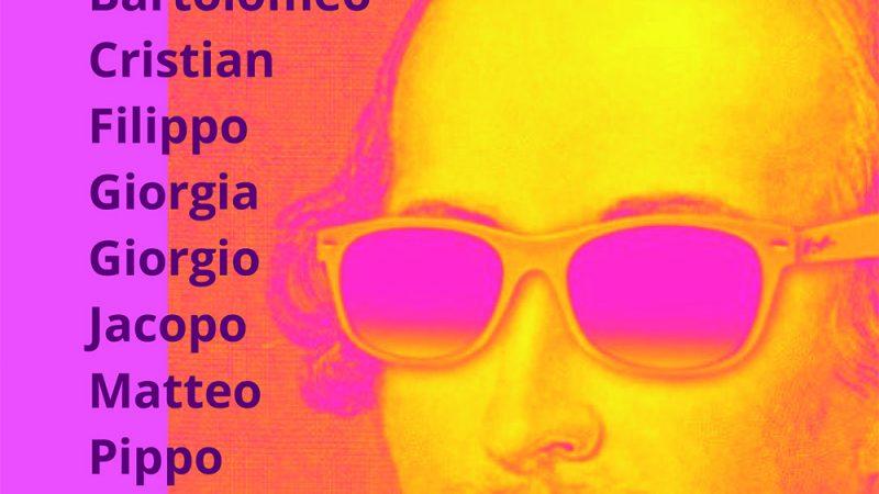 """Il Teatro degli Accolti presenta """"Scespir in mensa""""  Operina gustosa, giovedì 23 settembre alle ore 20.30,  presso il Bar Parco, al parco Bonaldi in viale Europa"""