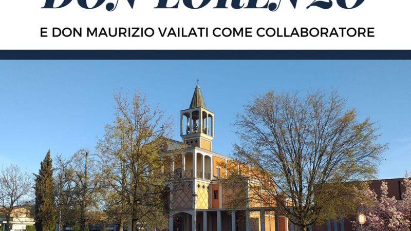 Domenica prossima don Lorenzo Roncali (con don Maurizio Vailati come collaboratore) farà il suo ingresso a Castelnuovo