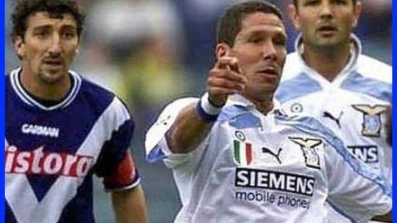 Ah che Finestra sul Mondo Magica Dario Hubner, quando militava nel Brescia, tra gli allora campioni laziali Simeone e Mihajlovic