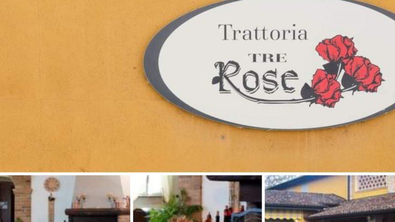Dalle pagine del progetto web e social East Lombardy parte quarta ecco la Trattoria Enoteca Le Tre Rose di Castelleone