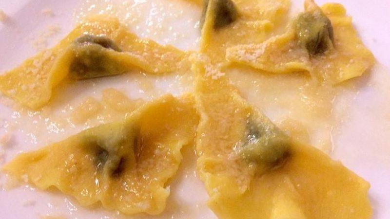 Il governatore della Lombardia Attilio Fontana, invitato a Crema dal Rotary ha apprezzato i Tortelli Cremaschi, particolari, del Ridottino