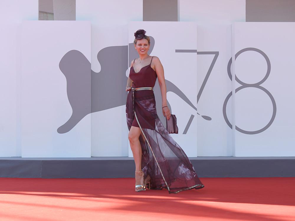 La moda sostenibile di Anna Venchiarutti protagonista a Venezia al Festival del Cinema
